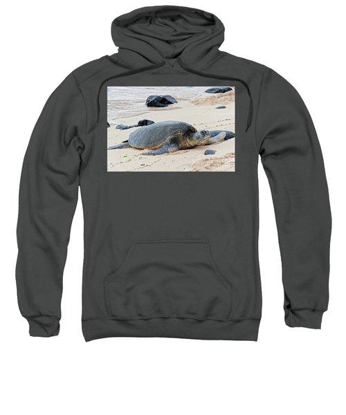 Lazy Day At The Beach Sweatshirt
