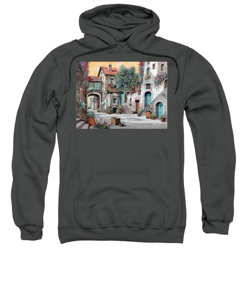 Le Scale Tra Le Case Sweatshirt