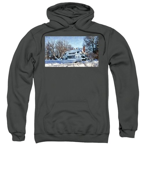 Leacock Museum In Winter Sweatshirt