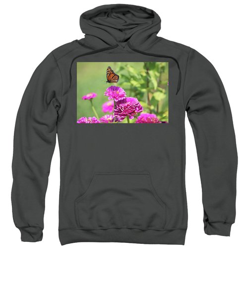 Leaping Butterfly Sweatshirt