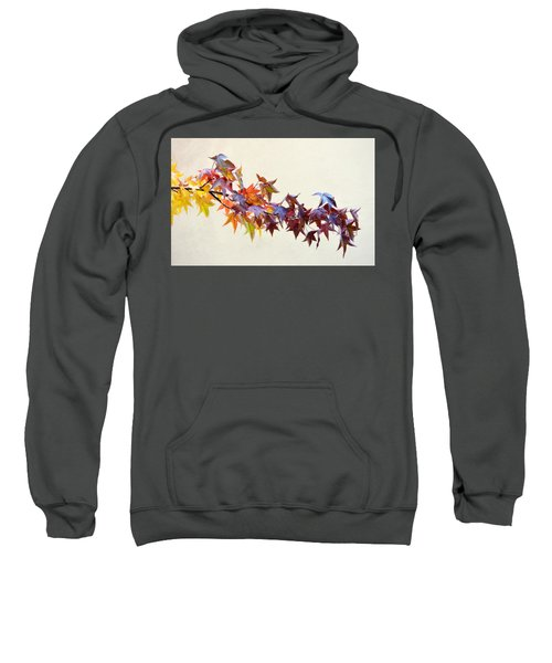 Leaves Of Many Colors Sweatshirt