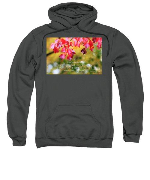 Leaves Believe Sweatshirt