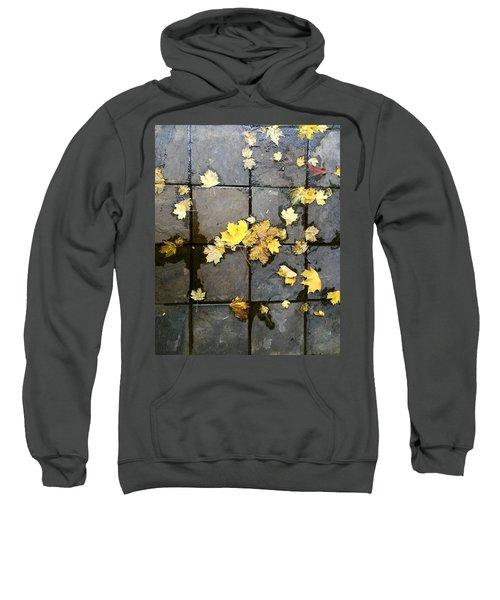 Leaves On Slate Sweatshirt