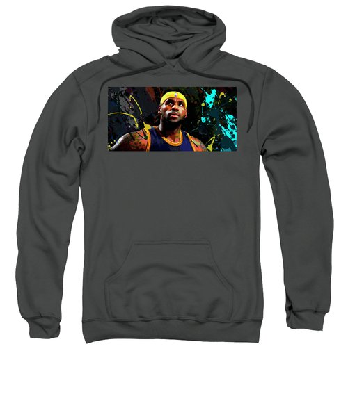 Lebron Sweatshirt by Richard Day