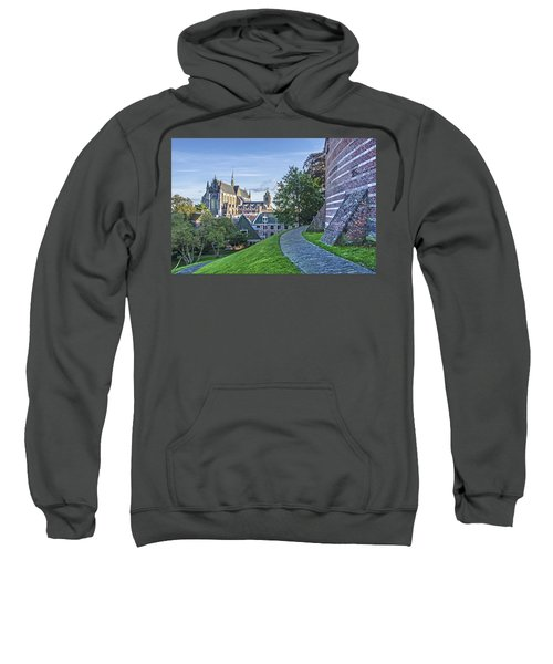 Leiden, The Church And The Castle Sweatshirt
