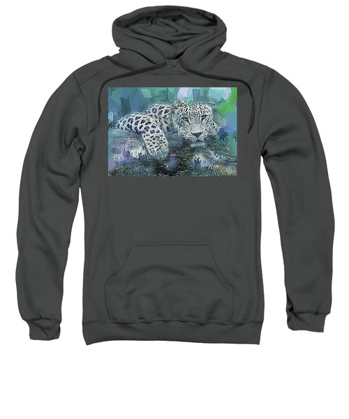 Leopard Abstract Sweatshirt