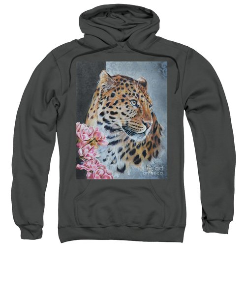Leopard And Roses Sweatshirt