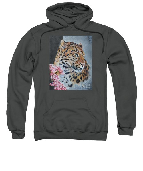 Leopard And Roses Sweatshirt