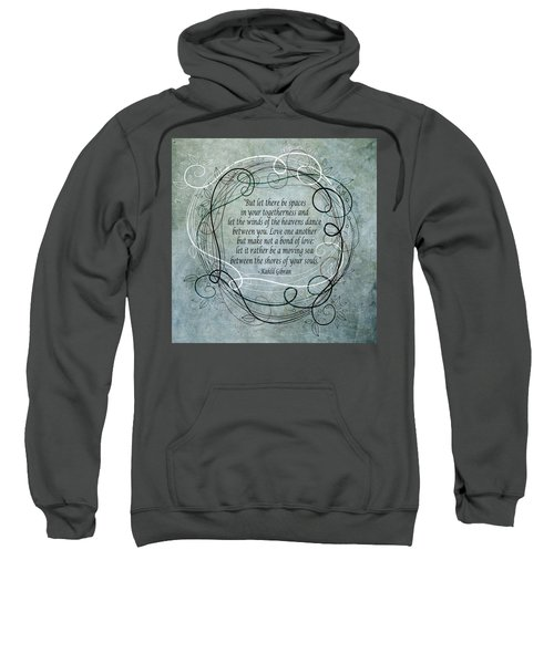 Let There Be Spaces Sweatshirt