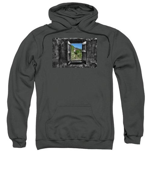 Let's Open The Windows - Apriamo Le Finestre Sweatshirt