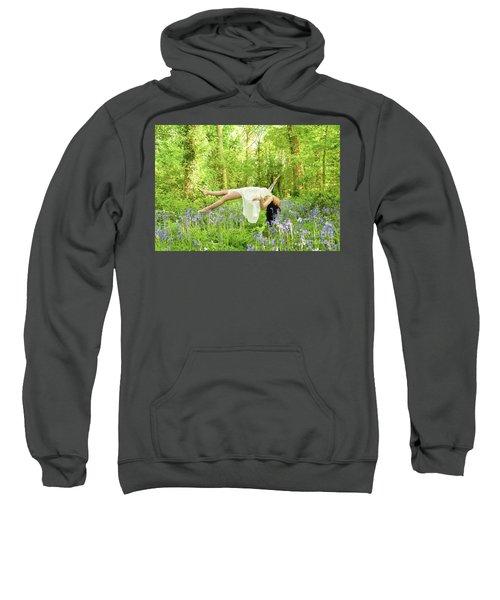 Levitation In Bluebells Sweatshirt
