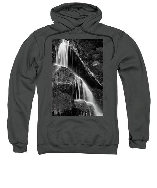Lichtenhain Waterfall - Bw Version Sweatshirt