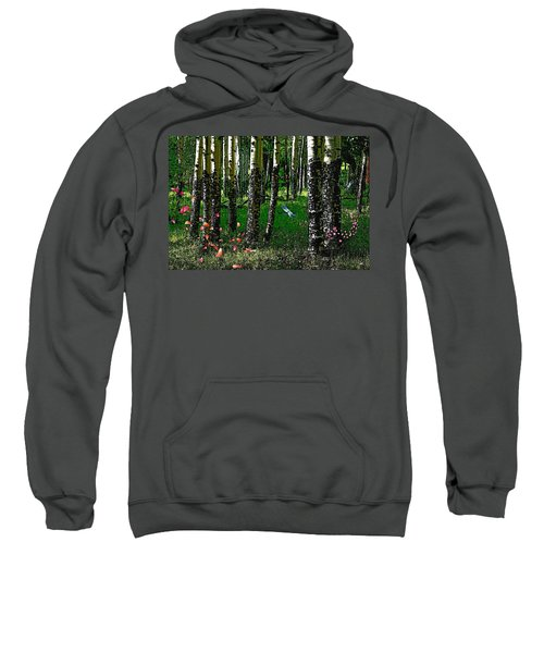 Life Among The Aspens Sweatshirt