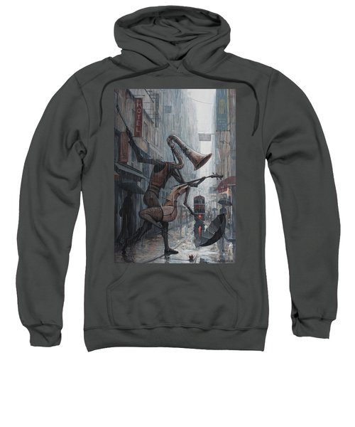 Life Is  Dance In The Rain Sweatshirt