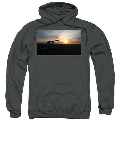 Lifeguard Stand And Sunrise Sweatshirt