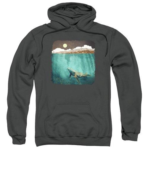 Light Beneath Sweatshirt