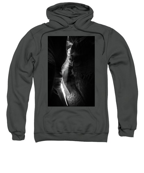 Light Shaft In Lower Antelope Canyon Sweatshirt