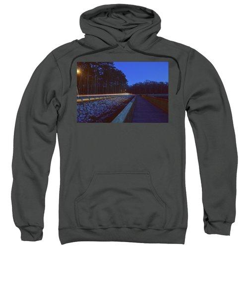 Light Trails On Elbow Road Sweatshirt