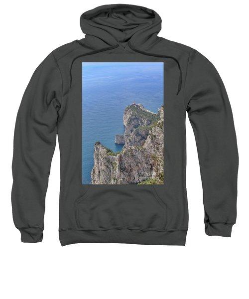 Lighthouse On The Cliff Sweatshirt