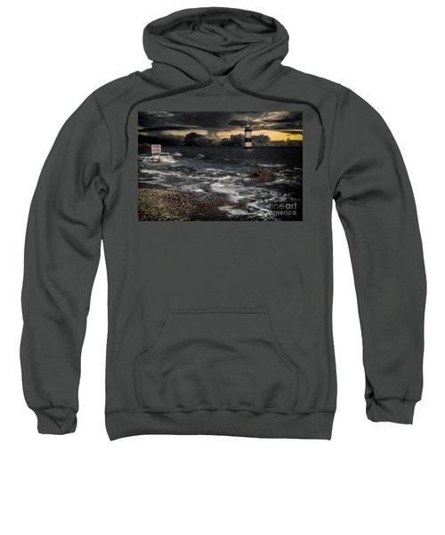 Lighthouse Storm Sweatshirt