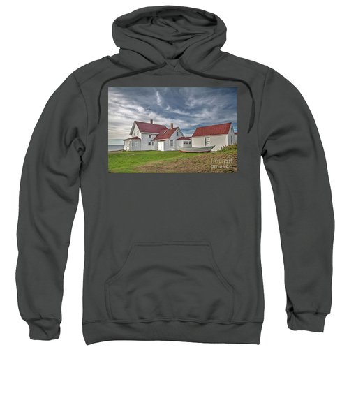 Keepers House At The Monheagn Lighthouse Sweatshirt