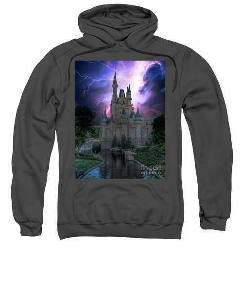 Lighting Over The Castle Sweatshirt