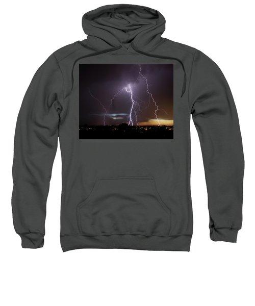 Lightning At Dusk Sweatshirt