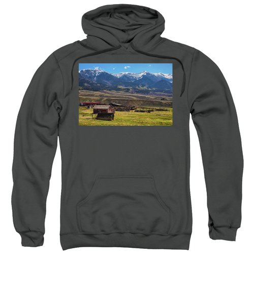 Like An Old Western Movie Sweatshirt by James BO Insogna