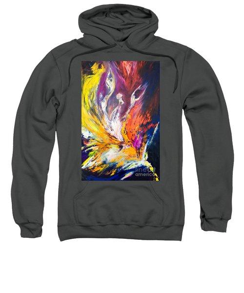 Like Fire In The Wind Sweatshirt