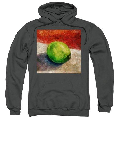 Lime Still Life Sweatshirt