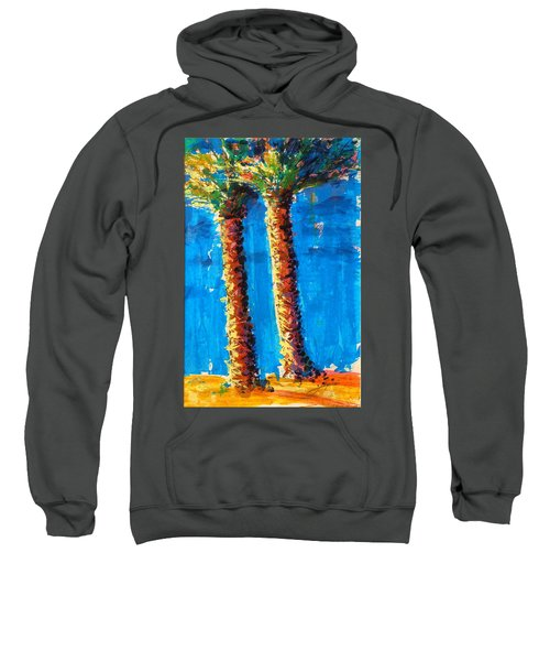 Lincoln Rd Date Palms Sweatshirt