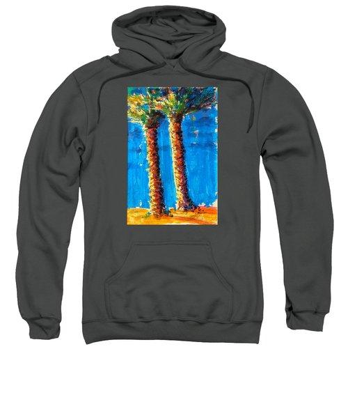 Lincoln Rd Date Palms Sweatshirt