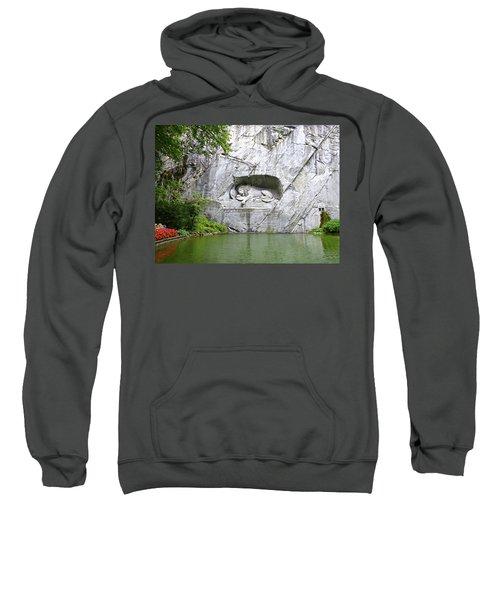 Lion Of Lucerne Sweatshirt