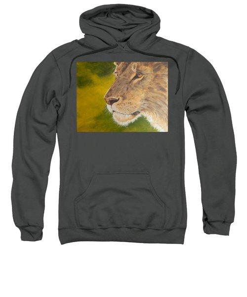 Lion Portrait Sweatshirt