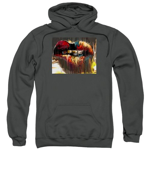 Lips Say It All Sweatshirt