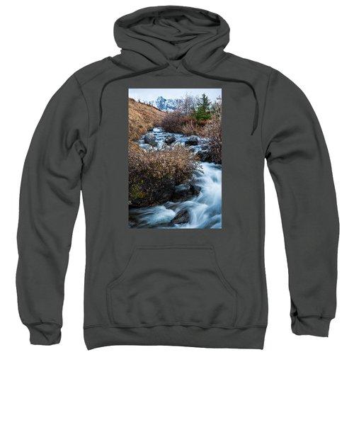 Liquid Winter Sweatshirt