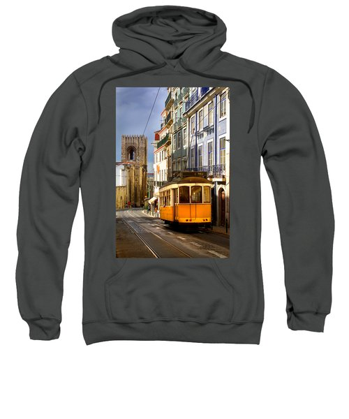 Lisbon Tram Sweatshirt