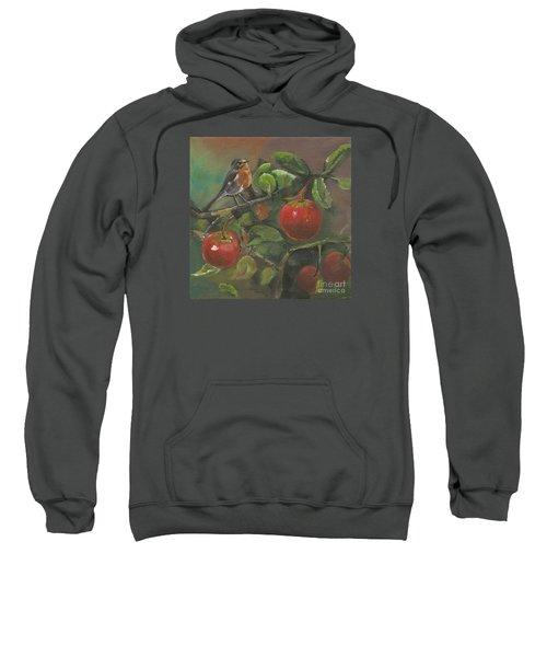 Little Bird In The Apple Tree Sweatshirt