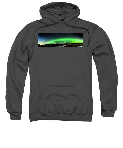 Little House Under The Aurora Sweatshirt
