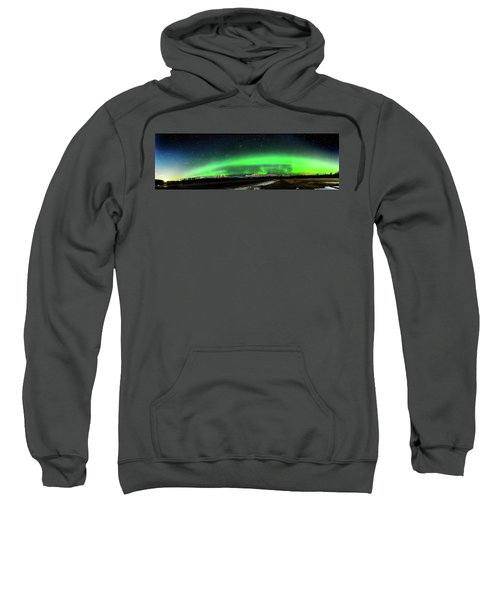 Little House Under The Aurora Sweatshirt