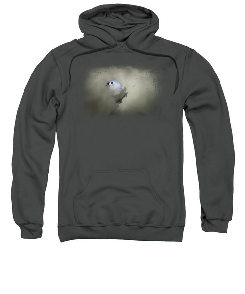Little Tufted Titmouse Sweatshirt