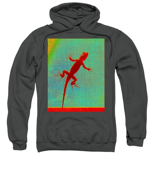 Lizard On The Screen Sweatshirt