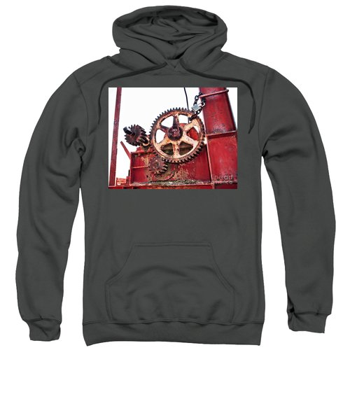 Sweatshirt featuring the photograph Locked In History by Stephen Mitchell