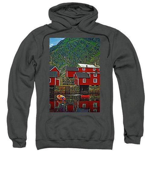 Lofoten Fishing Huts Sweatshirt
