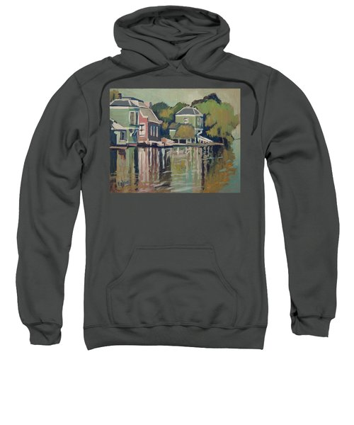 Lofts Along The River Zaan In Zaandam Sweatshirt