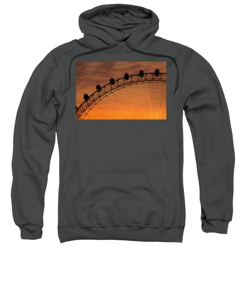 London Eye Sunset Sweatshirt by Martin Newman