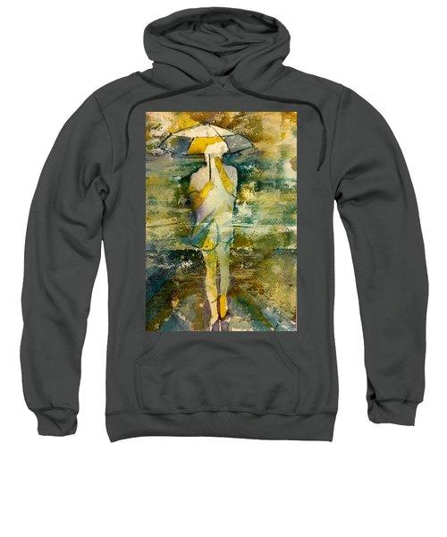 London Rain Theme Sweatshirt