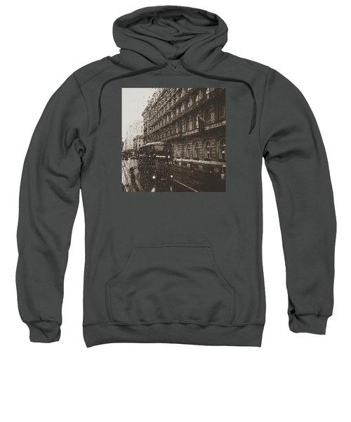 London Rain Sweatshirt by Trystan Oldfield