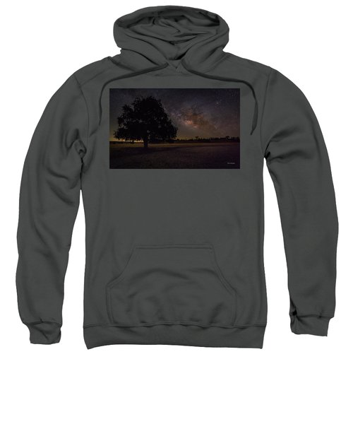 Lone Oak Under The Milky Way Sweatshirt