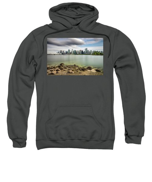 Long Exposure Of Vancouver City Sweatshirt